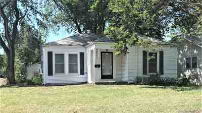 Wichita KS Single Family Home For Sale: $37,900