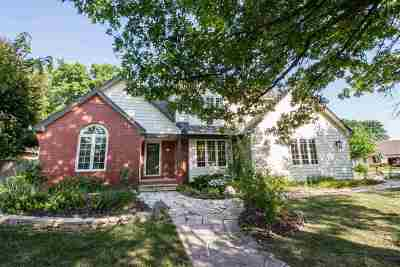 Wichita Single Family Home For Sale: 12429 E Edgewood Cir