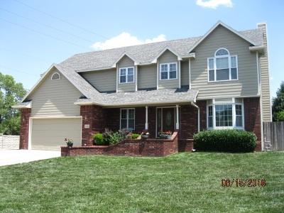 Wichita KS Single Family Home For Sale: $297,500