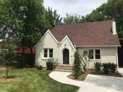 Wichita Single Family Home For Sale: 444 N Pershing St