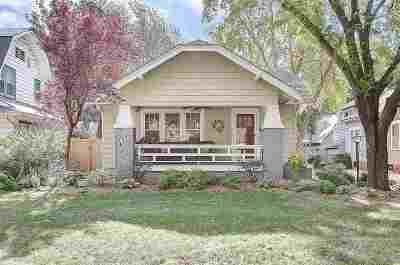 Wichita Single Family Home For Sale: 346 S Belmont