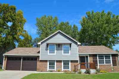 Wichita Single Family Home For Sale: 14010 E Bayley Circle