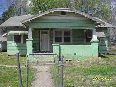 Arkansas City KS Single Family Home For Sale: $19,900