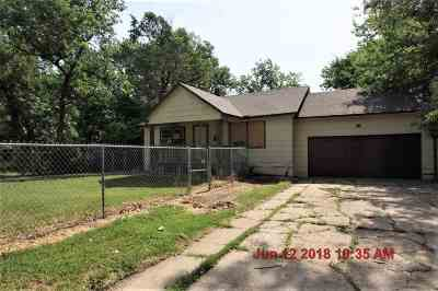 Wichita KS Single Family Home For Sale: $22,000