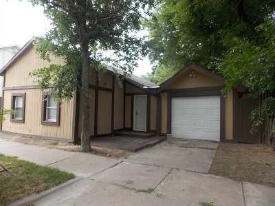 Wichita KS Single Family Home For Sale: $48,500