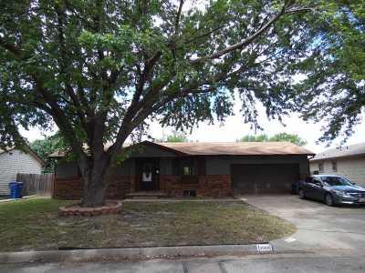 Wichita KS Single Family Home For Sale: $127,900