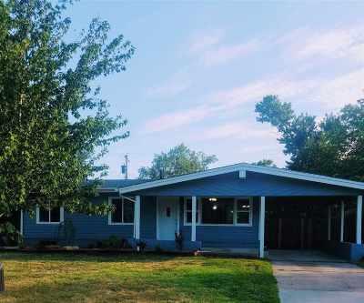 Wichita KS Single Family Home For Sale: $124,900