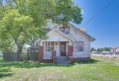 Hutchinson Single Family Home For Sale: 431 N Whiteside St