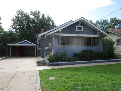 Hutchinson Single Family Home For Sale: 1608 N Washington St.