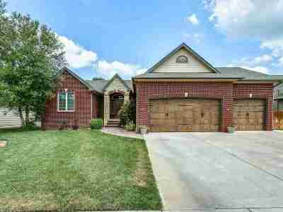 Derby Single Family Home For Sale: 1024 N Beau Jardin Cir