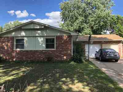 Wichita KS Single Family Home For Sale: $118,000