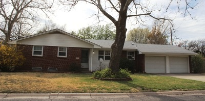 Wichita KS Single Family Home For Rent: $1,250