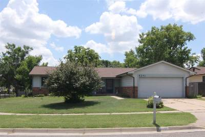 Bel Aire Single Family Home For Sale: 6241 Woodlow Dr
