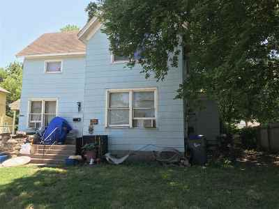 Harvey County Multi Family Home For Sale: 121 W 10th