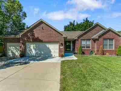 Derby Single Family Home For Sale: 107 S Valley Stream Dr