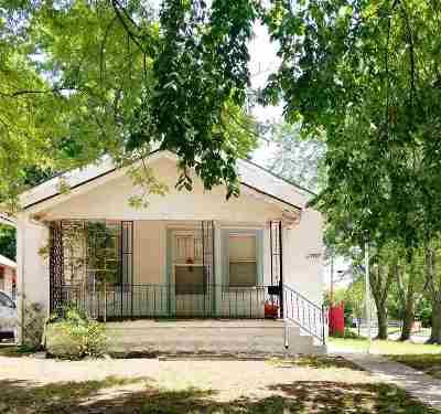Wichita Single Family Home For Sale: 1758 S Waco Ave