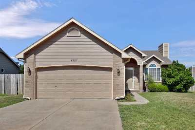 Bel Aire Single Family Home For Sale: 4987 N Hedgerow St