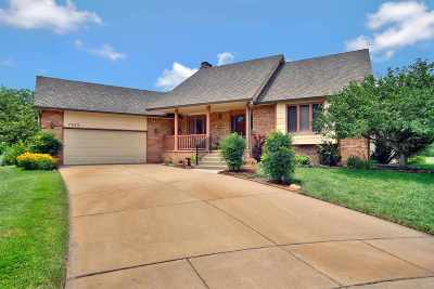Wichita Single Family Home For Sale: 7502 W Reflection Ct
