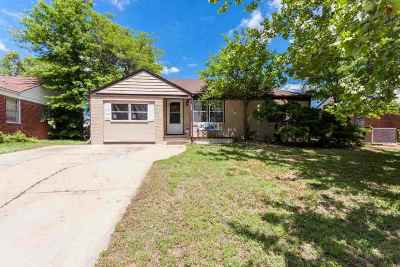 Wichita KS Single Family Home For Sale: $84,900
