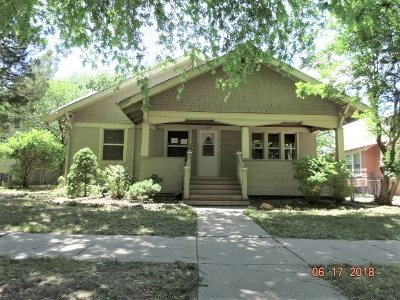 Wichita KS Single Family Home For Sale: $64,900