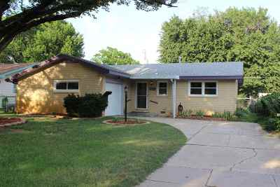 Wichita KS Single Family Home For Sale: $99,900