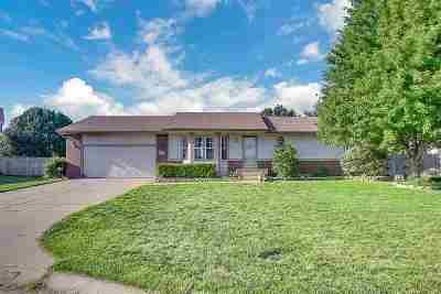 Wichita KS Single Family Home For Sale: $144,900