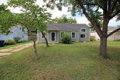Wichita KS Single Family Home For Sale: $87,900