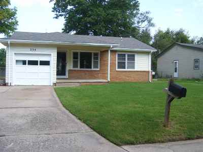 Haysville Single Family Home For Sale: 334 S Stearns Ave