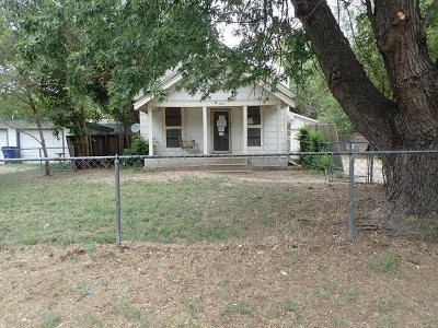 Wichita KS Single Family Home For Sale: $22,200