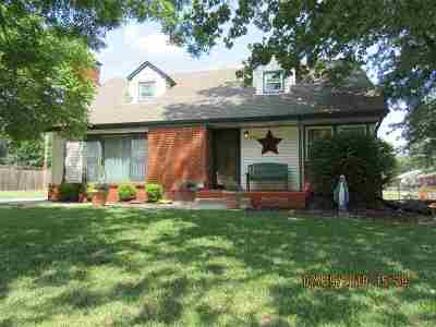Colwich Single Family Home For Sale: 124 S 7th St
