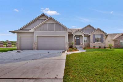 Mulvane Single Family Home For Sale: 966 Cedar Brook Circle