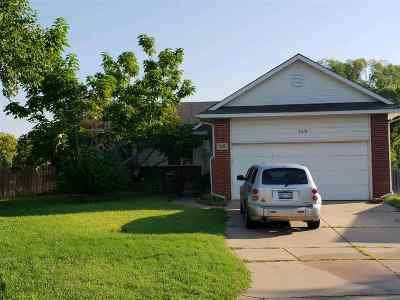 Wichita KS Single Family Home For Sale: $180,000