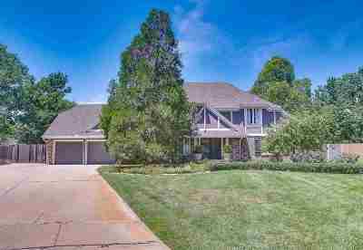 Wichita Single Family Home Contingent: 8520 E Overbrook Ln