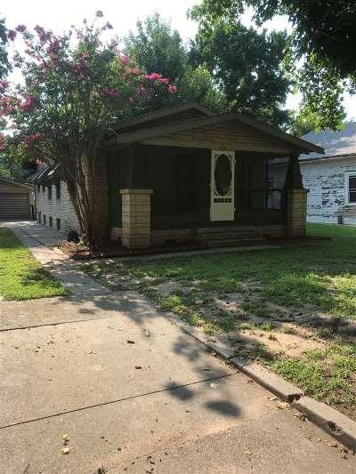 Arkansas City KS Single Family Home For Sale: $78,900