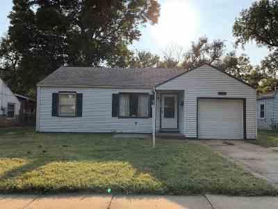Wichita KS Single Family Home For Sale: $51,500