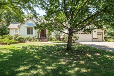 Wichita Single Family Home Contingent: 2519 N Cranbrook Ct