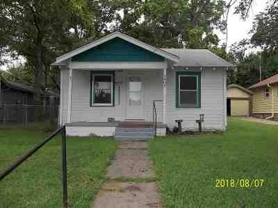 Arkansas City Single Family Home For Sale: 1607 N 7th St