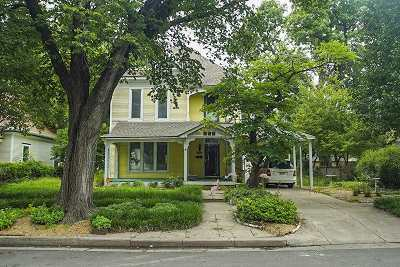 Wichita Single Family Home For Sale: 1121 N Bitting Ave