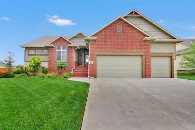 Wichita Single Family Home For Sale: 207 N City View Cir