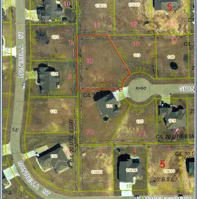 Wichita Residential Lots & Land For Sale: Lot 19 Block 5 Belle Terre South Add