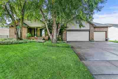Wichita Single Family Home For Sale: 7703 W Shadow Lakes St
