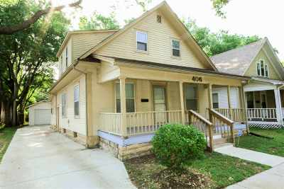 Wichita KS Single Family Home For Sale: $85,000