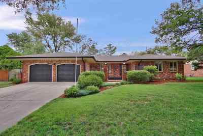 Wichita Single Family Home For Sale: 7417 E Huntington St