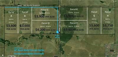 El Dorado Residential Lots & Land For Sale: SE 50th