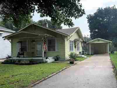 Arkansas City KS Single Family Home For Sale: $75,900