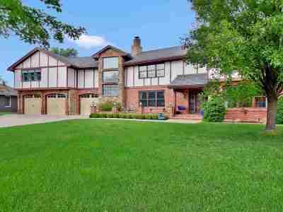 Wichita Single Family Home Contingent: 14224 E Brookline