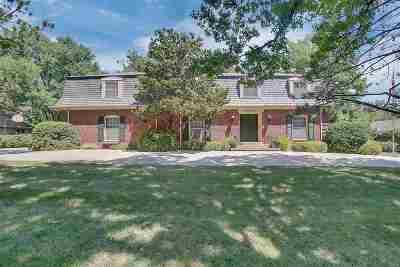Wichita Single Family Home For Sale: 8600 E Shannon Way
