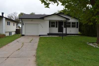 Sedgwick County, Butler County, Reno County, Sumner County Single Family Home For Sale: 2752 N Vassar St
