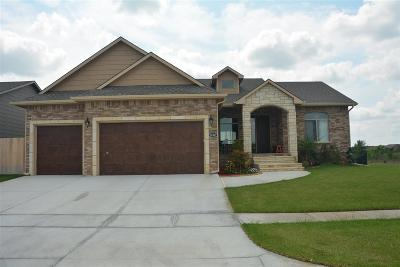 Wichita Single Family Home For Sale: 12407 E Cherry Creek St