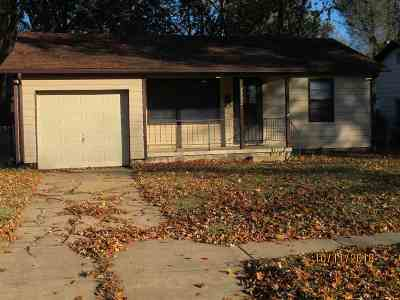 Wichita KS Single Family Home For Sale: $64,999